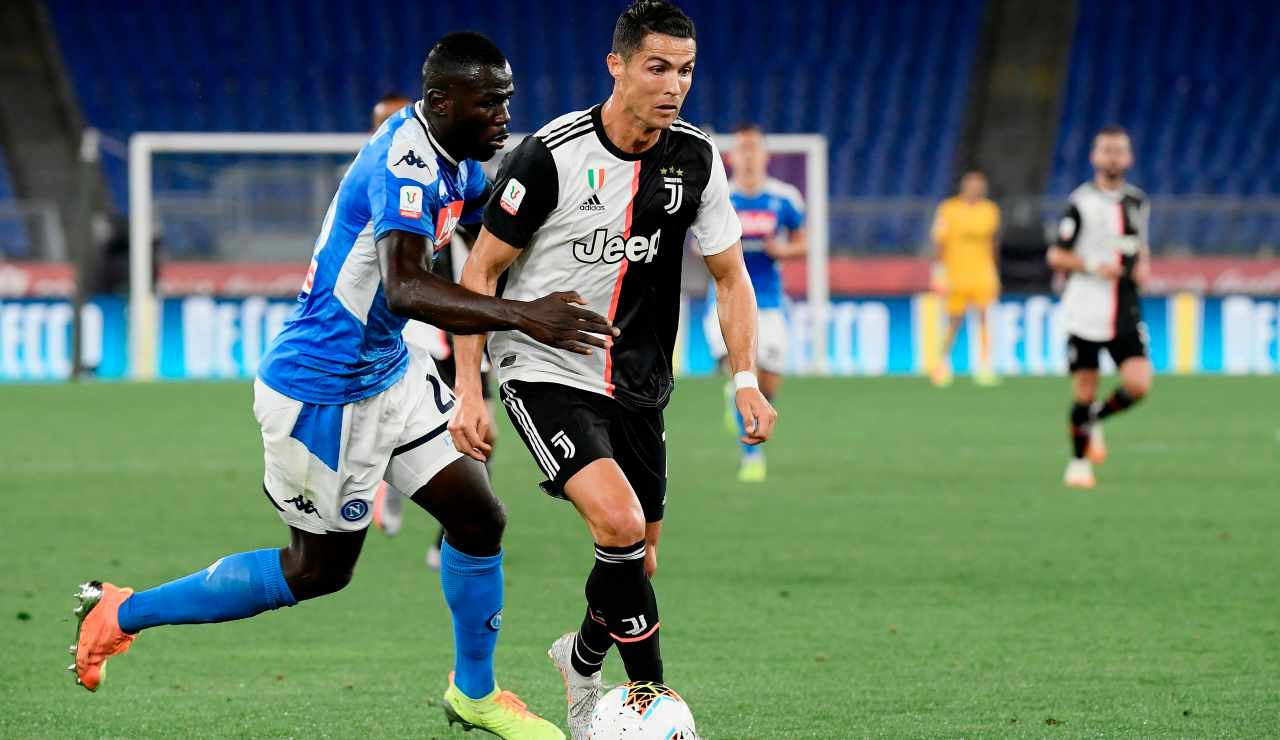 Juventus Ronaldo Koulibaly