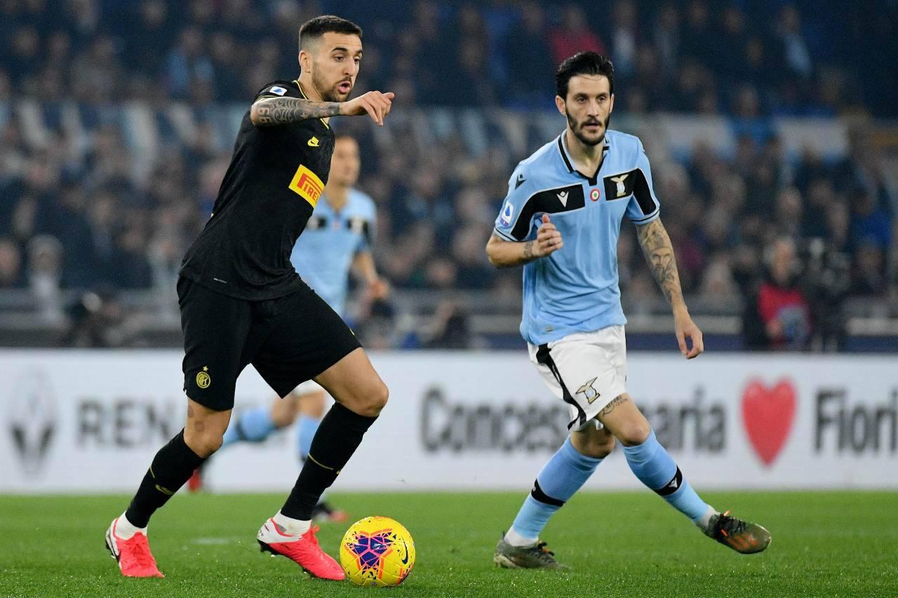 VECINO, È in uscita dall'Inter: contatti con il Napoli