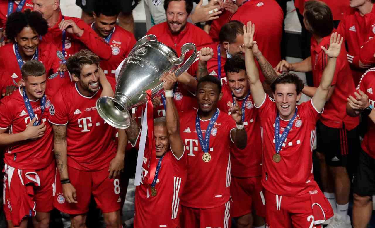 Bayern Monaco Thiago Alcantara