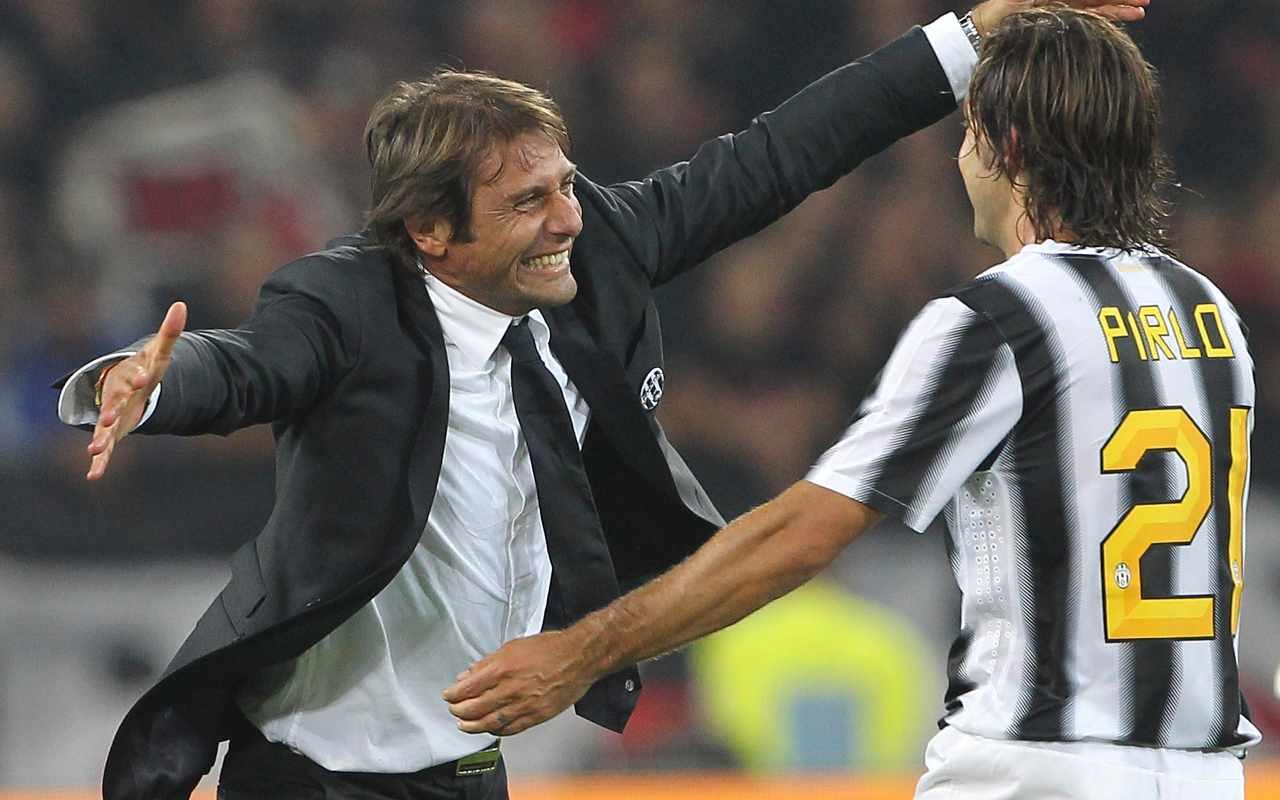 Juventus Conte Pirlo Vidal