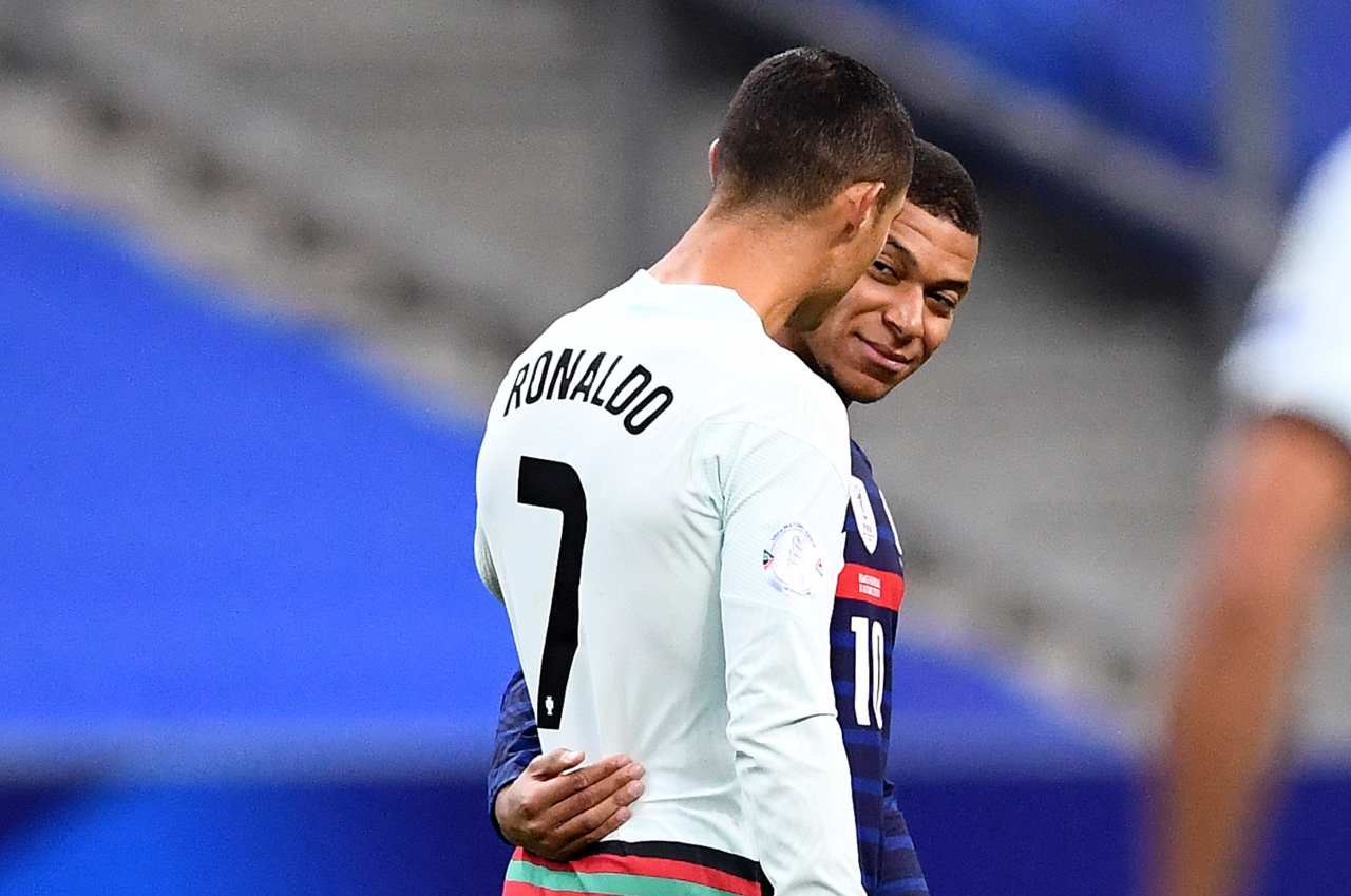 Cristiano Ronaldo Mbappe