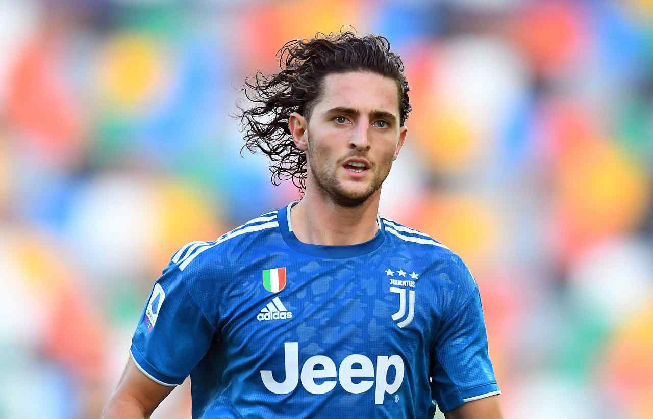 Rabiot calciomercato Juventus
