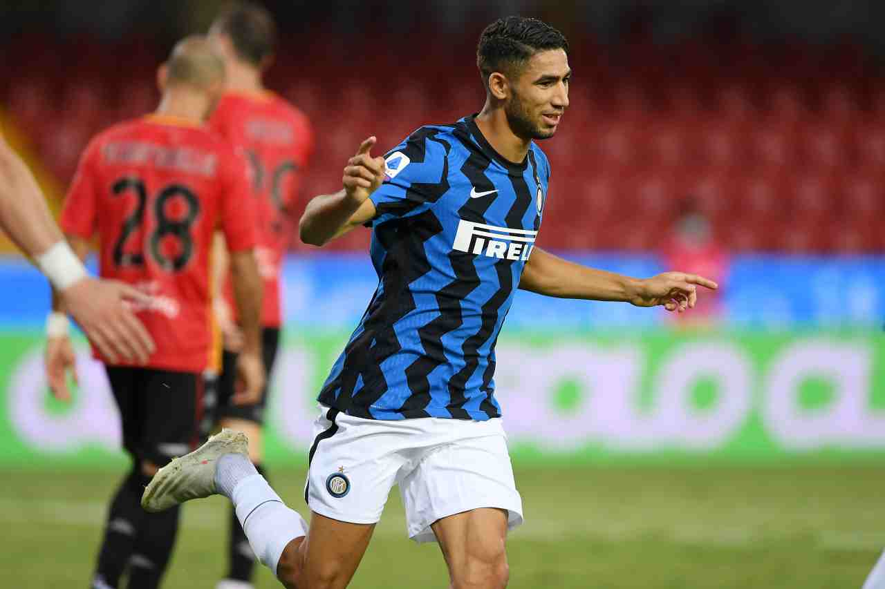 Inter Hakimi Real Madrid