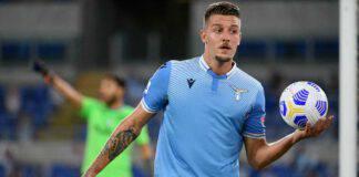 Serie A Dazn Lazio Inter Milinkovic Savic