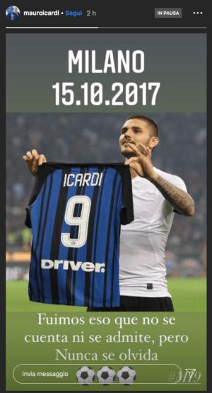 Inter Icardi Instagram