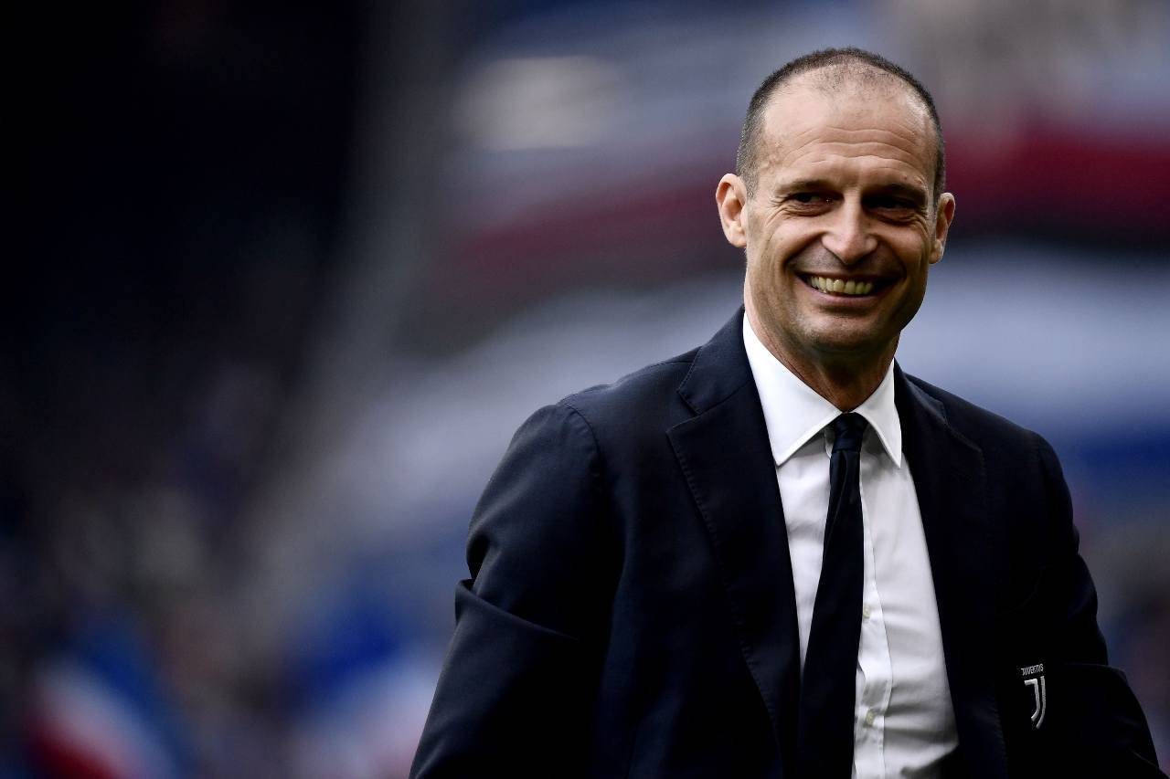 Allegri Real Madrid calciomercato