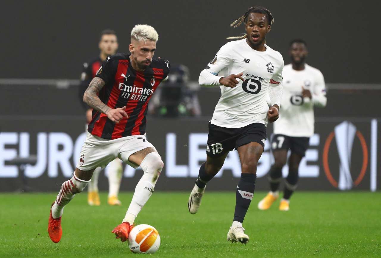 Castillejo Milan calciomercato