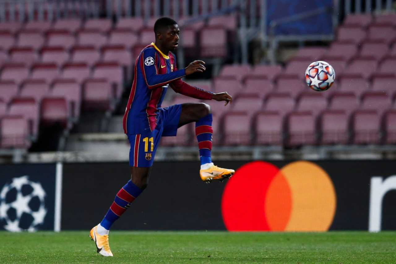 Juventus Dembele Barcellona