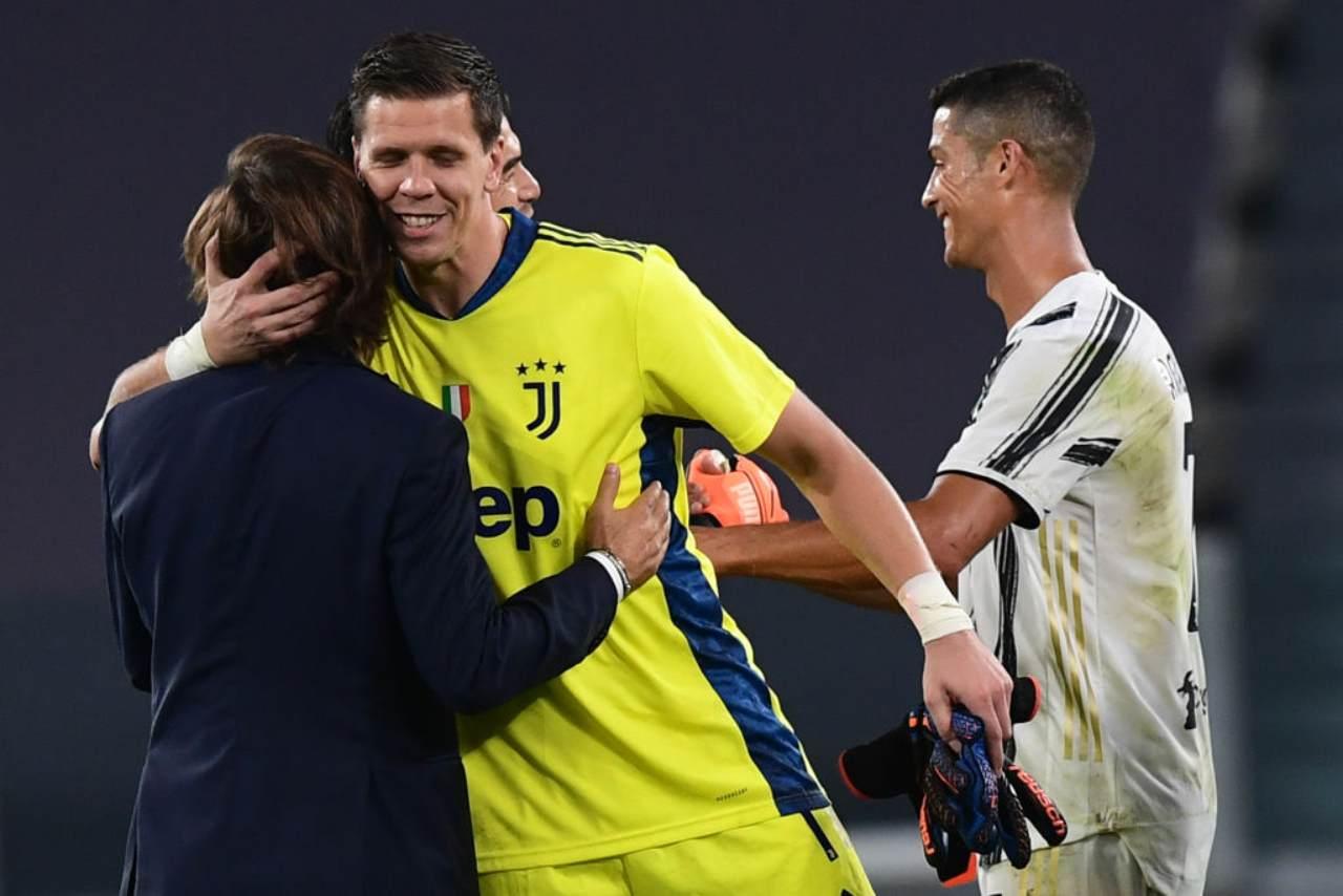 Szczesny Juventus Pirlo