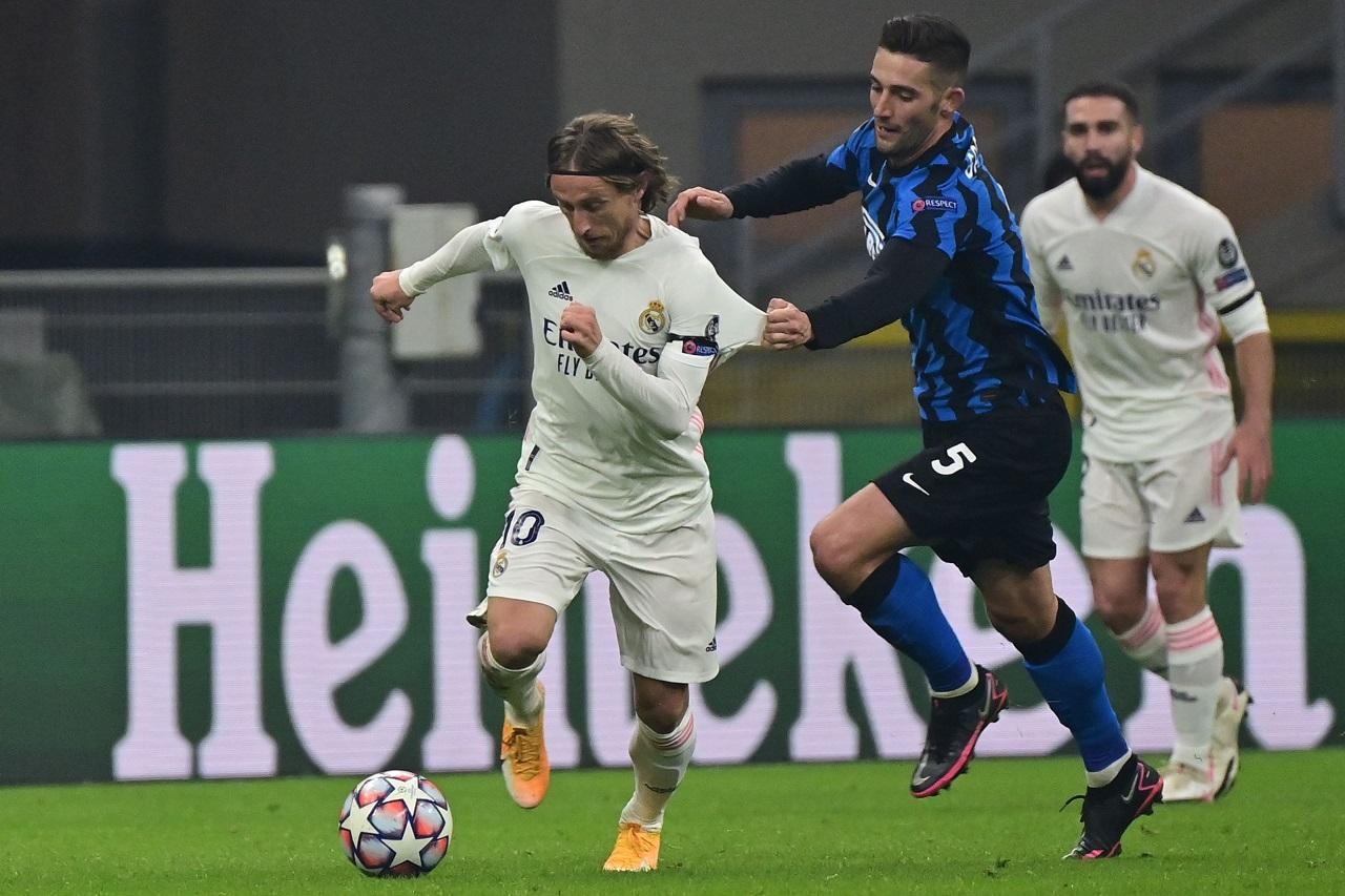 Modric calciomercato Inter