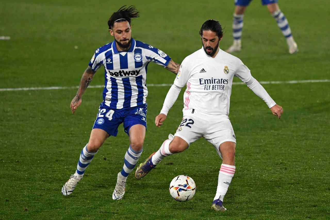 Real Madrid Isco Kounde Siviglia Serie A