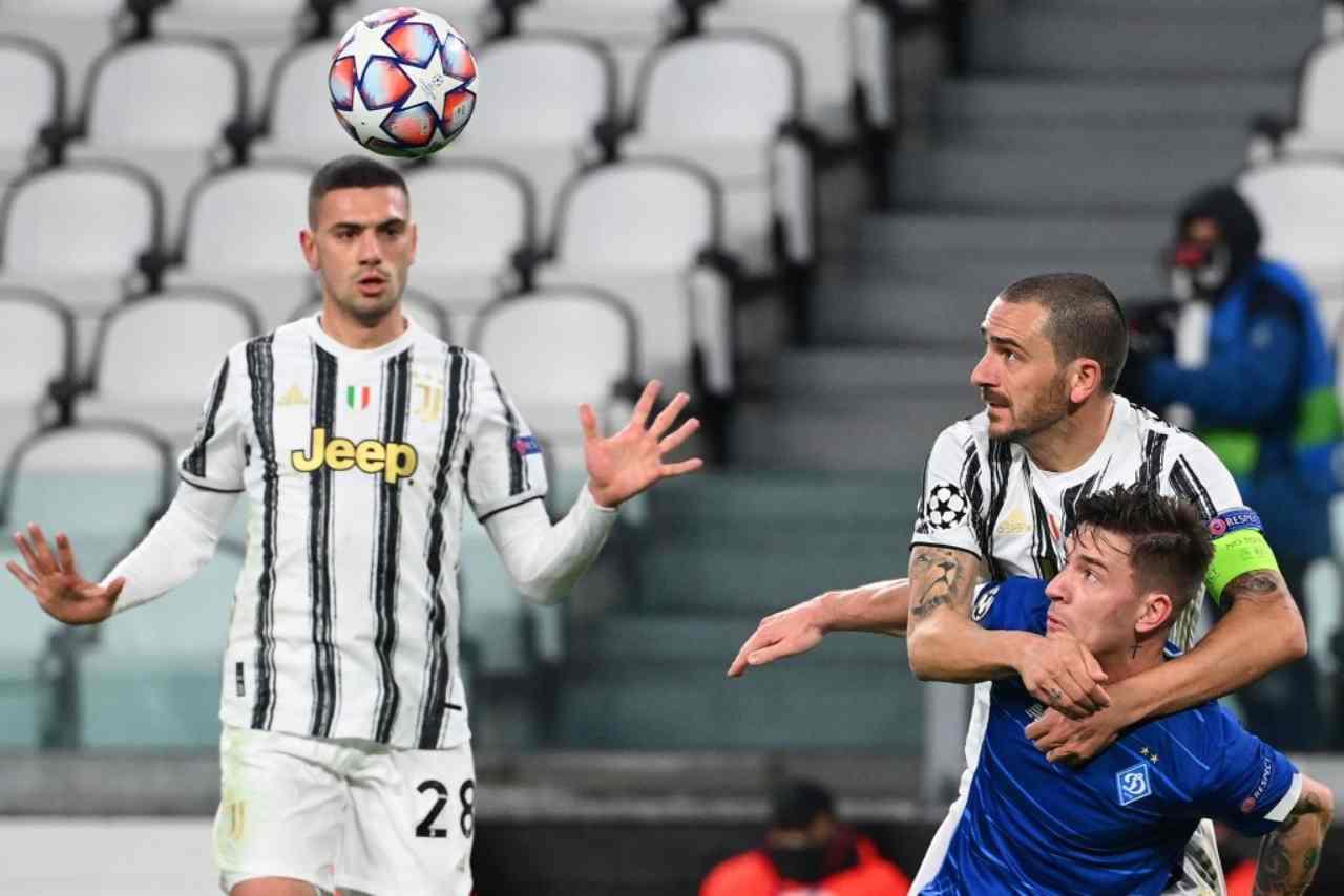 Juventus Tottenham Demiral Dybala Kane Sarri