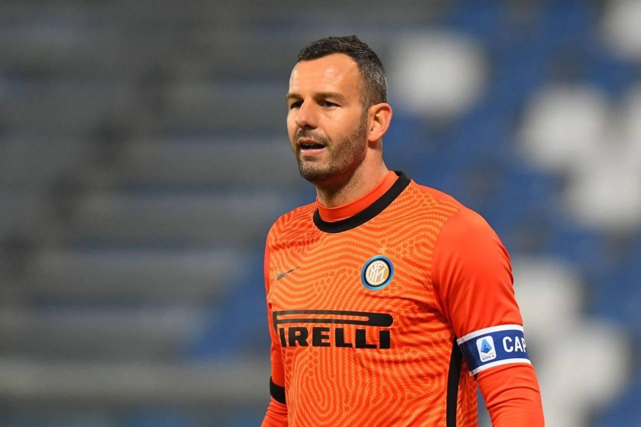 Inter Handanovic Cragno Musso Meret