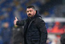 "Juventus-Napoli, Gattuso: ""ASL, noi in buona fede"""