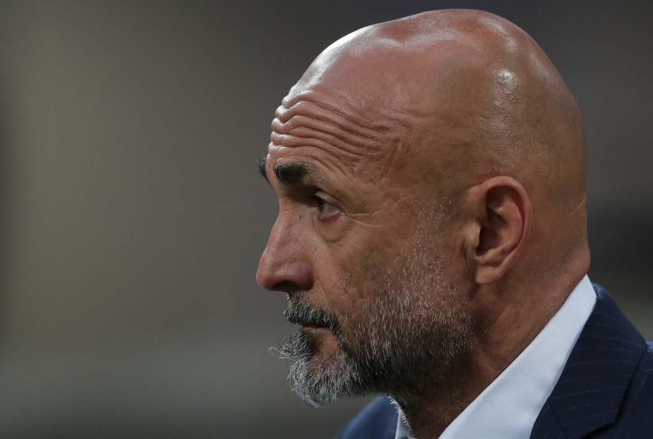 Spalletti nel post Napoli-Spartak