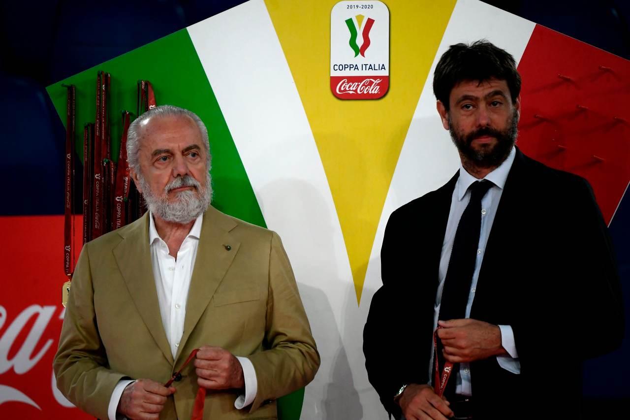 Agnelli De Laurentiis Juve Napoli