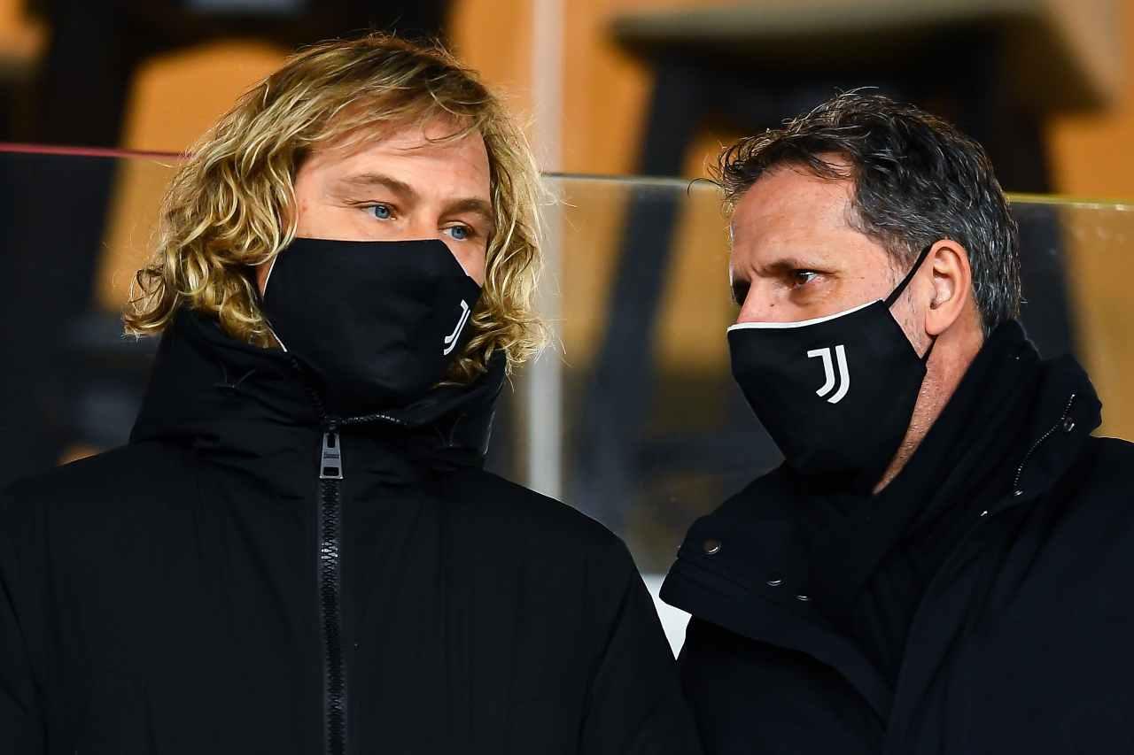 Pavel Nedved e Fabio Paratici