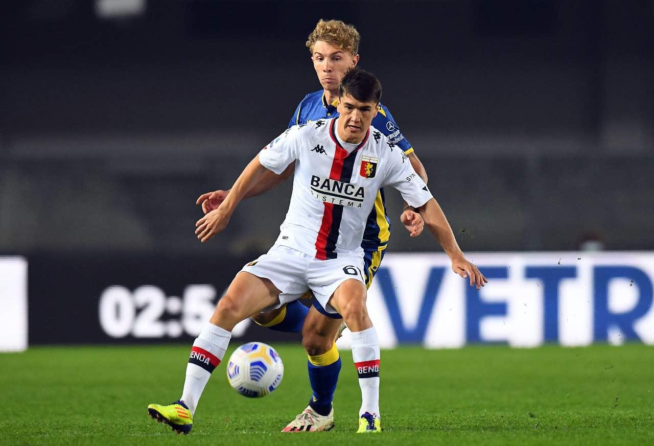 Shomurodov Genoa calciomercato Juventus