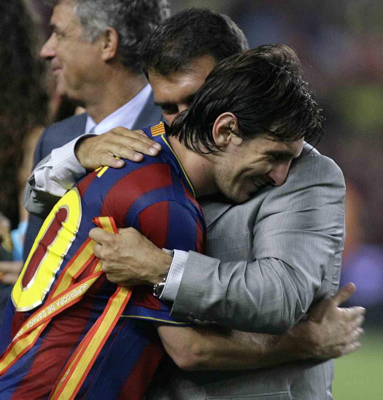 Laporta e Messi