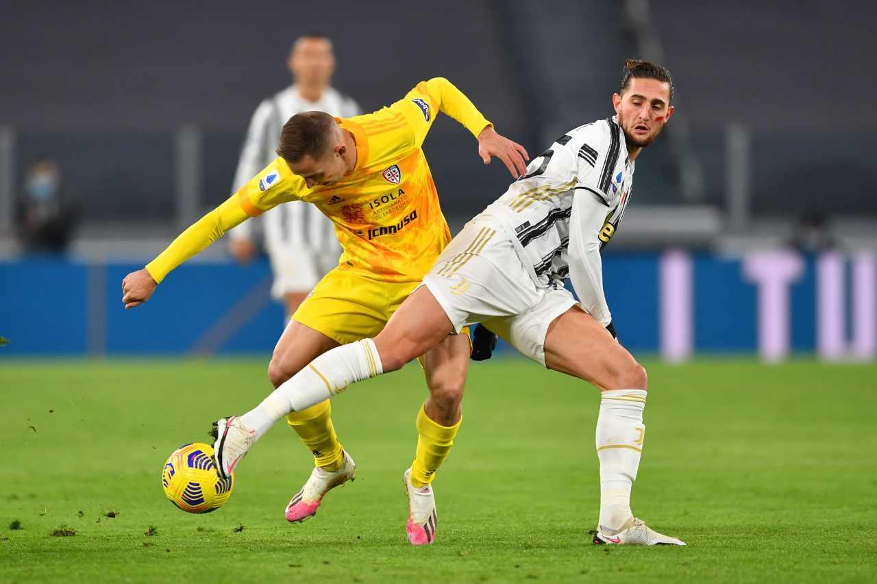Calciomercato Juventus, Rabiot nello scambio in Premier