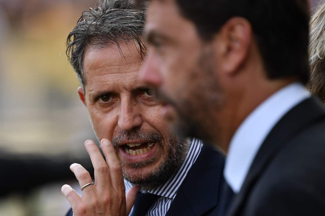 Juventus Paratici calciomercato