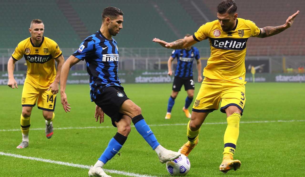 Calciomercato Inter, arriva la smentita | Nessuna tensione per Hakimi
