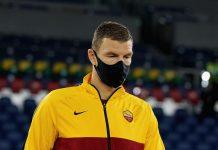 Roma, lesione muscolare per Dzeko | I tempi di recupero