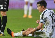 Dybala non convocato Juventus