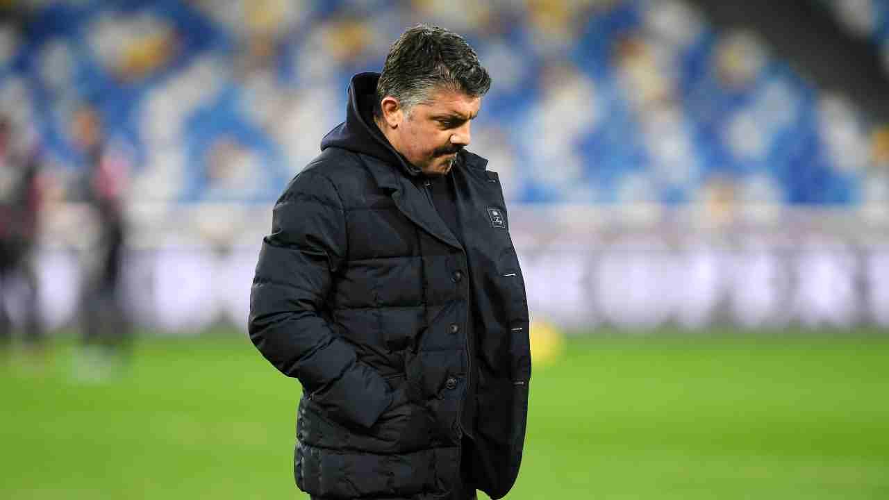 Napoli Gattuso Sarri Fonseca Roma