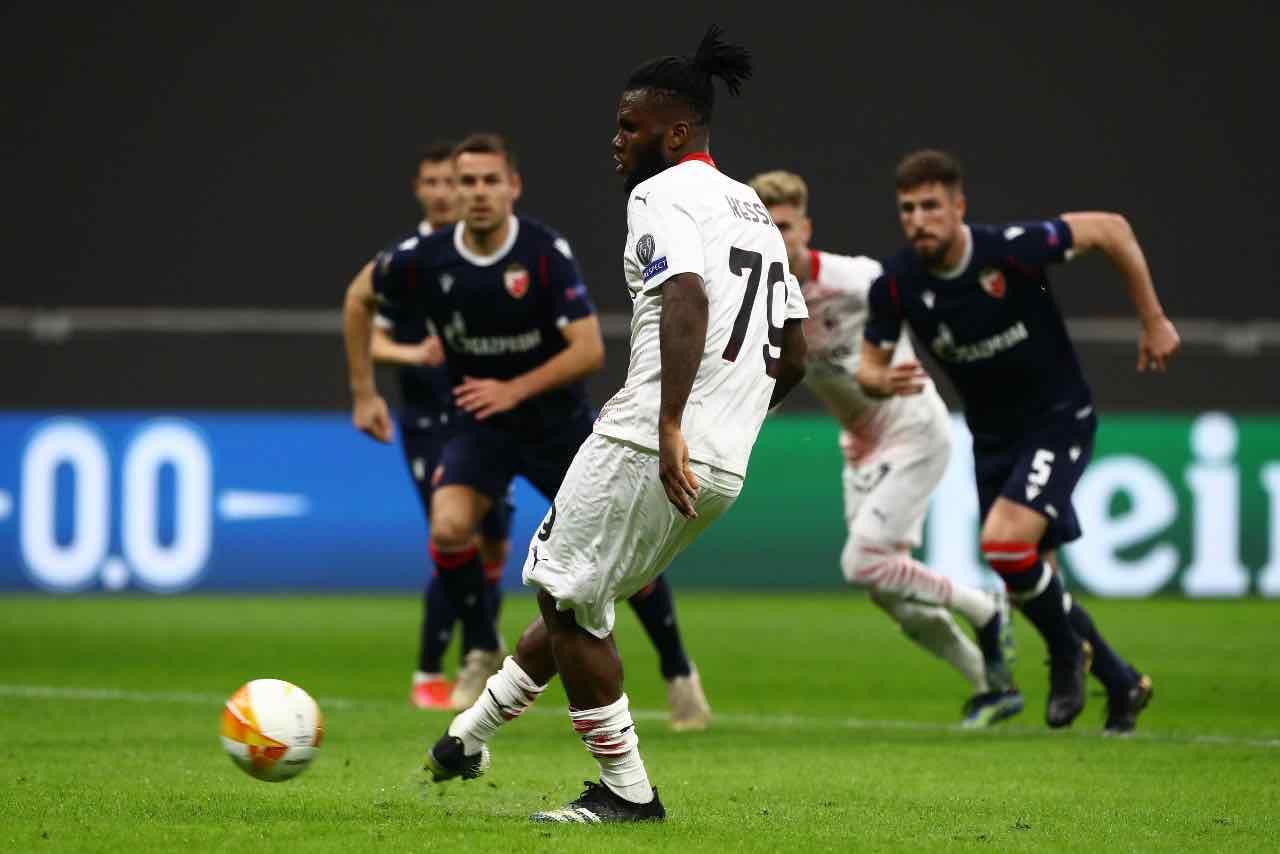 Kessie Milan Europa League