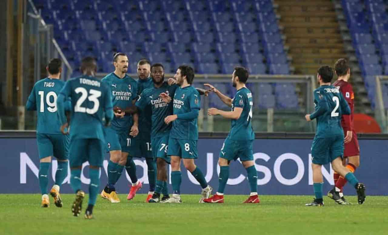 Roma-Milan 1-2