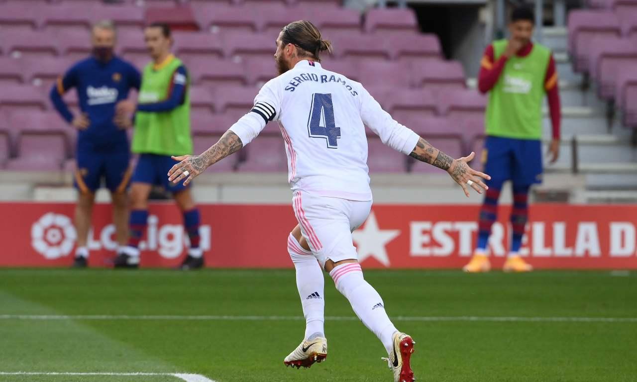 "Calciomercato Juventus, addio Sergio Ramos | ""Andrà via"""
