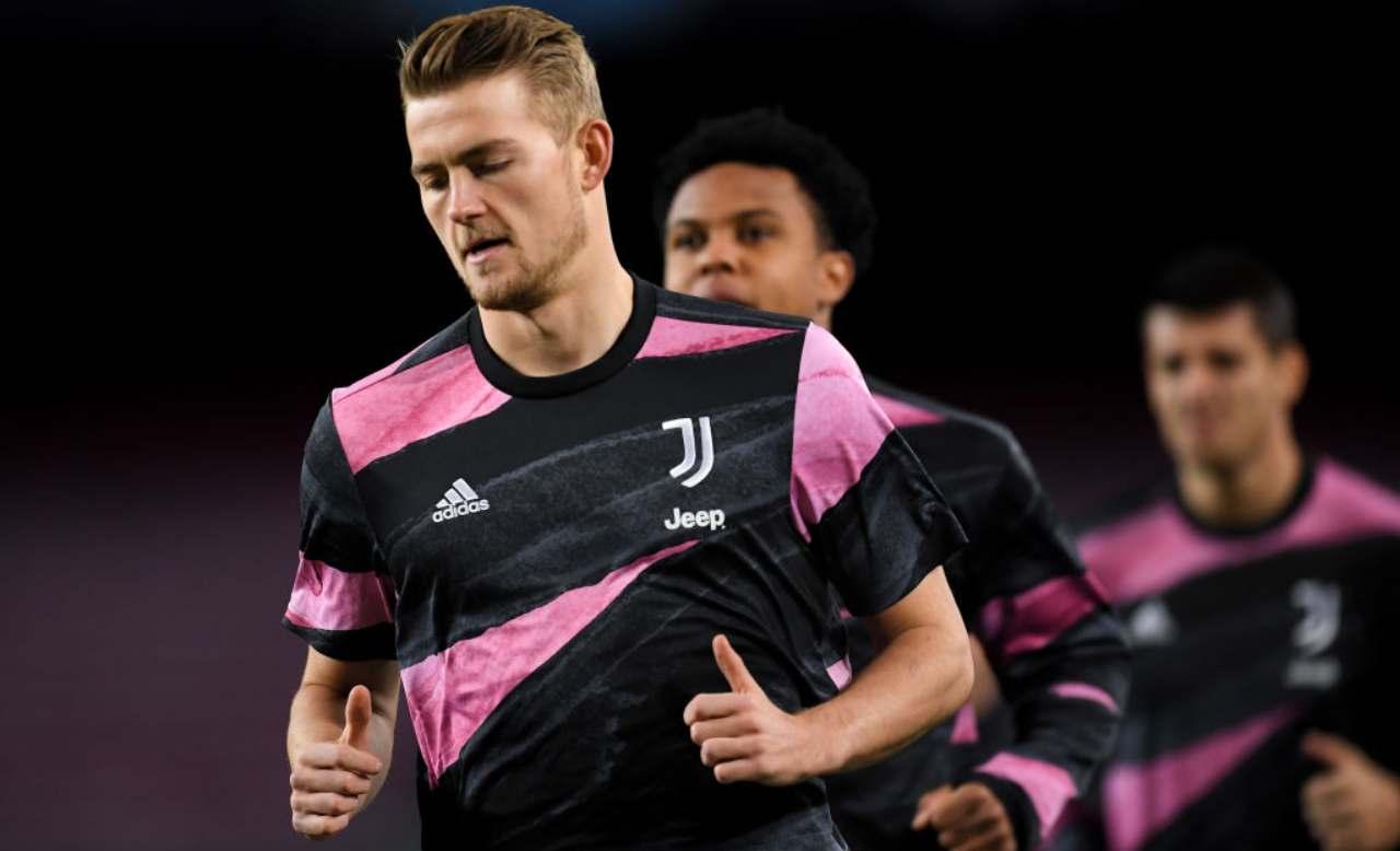 Calciomercato Juventus, addio di due big | Il Barcellona su de Ligt