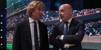 Marotta Nedved calciomercato inter Juventus