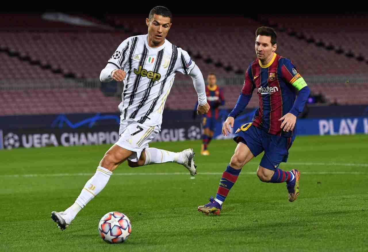 Calciomercato Juventus Messi Ansu Fati Rashford