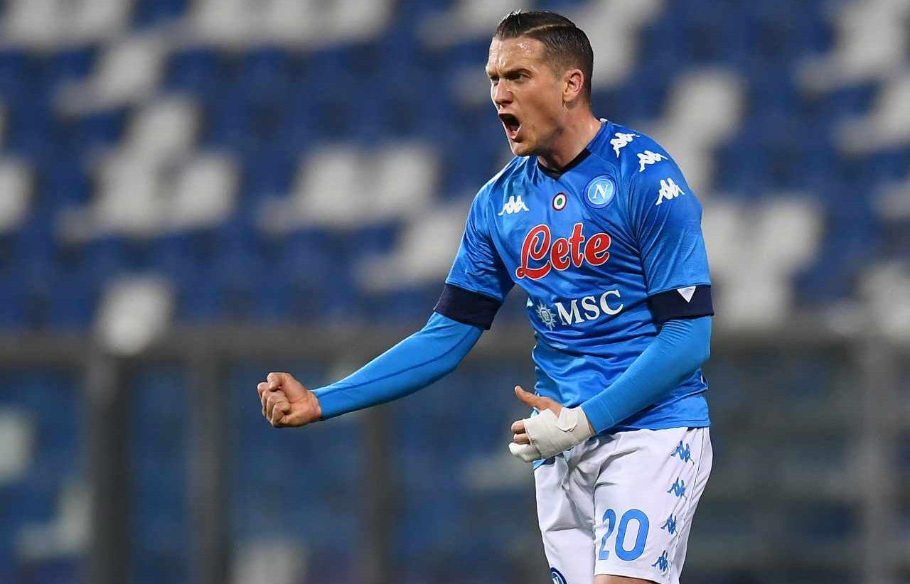 Calciomercato Napoli Zielinski