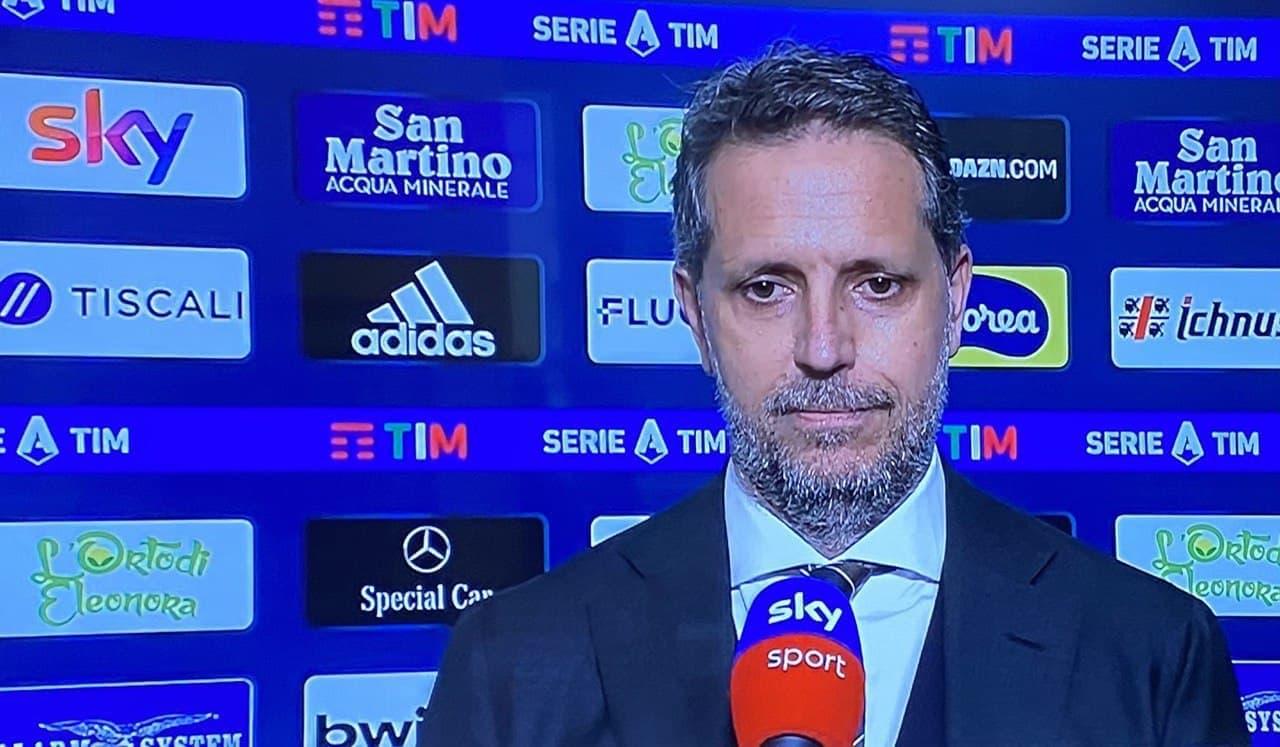 Paratici Cagliari Juventus