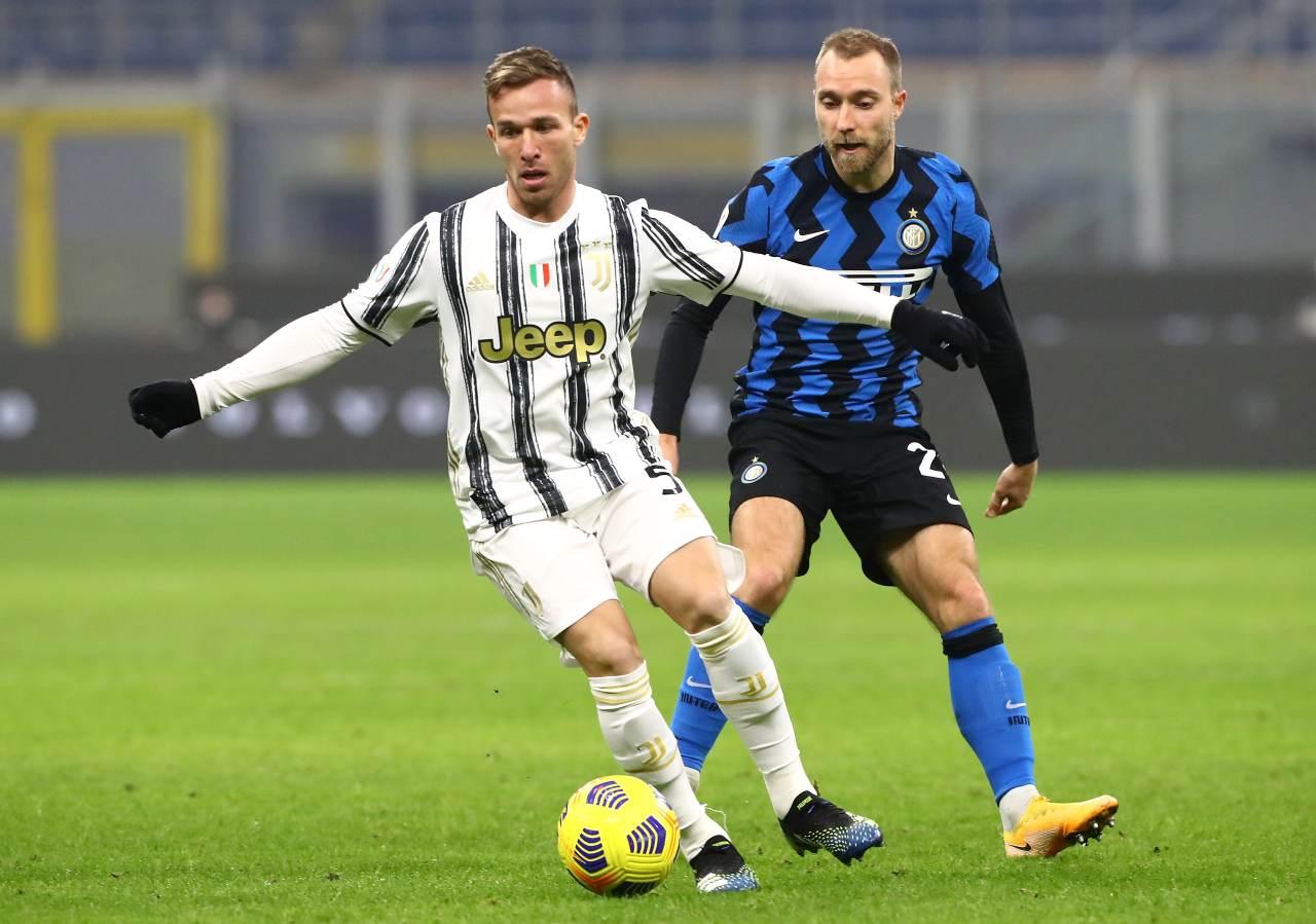 Arthur Psg calciomercato Juventus