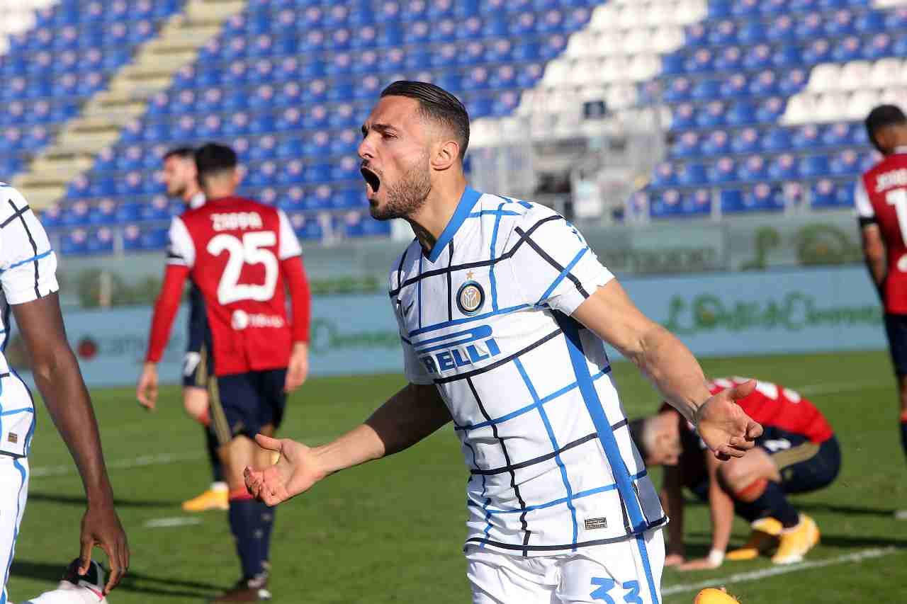 D'Ambrosio Inter calciomercato Roma