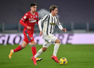 D'Amico Juventus Milan Fagioli Galabinov Desplanches Criscito Consigli