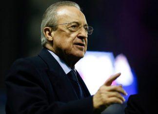 Florentino Perez calciomercato Juventus