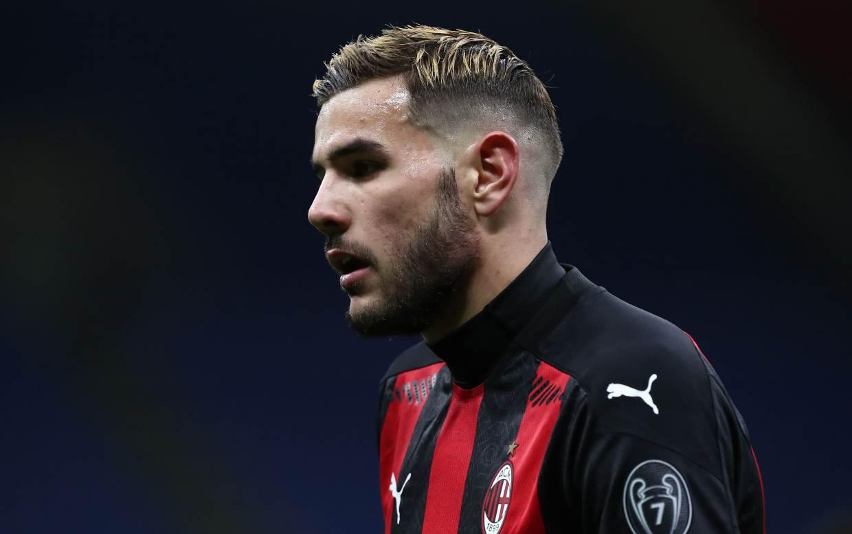 Milan Sampdoria 1-1 Theo Hernandez Twitter