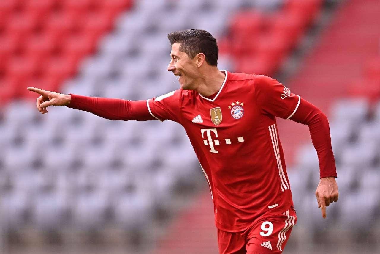 Juventus Lewandowski Real Madrid Bayern Monaco Manchester City
