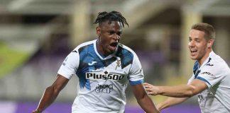Fiorentina Atalanta tabellino classifica