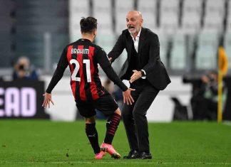 Milan Real Madrid Brahim Diaz