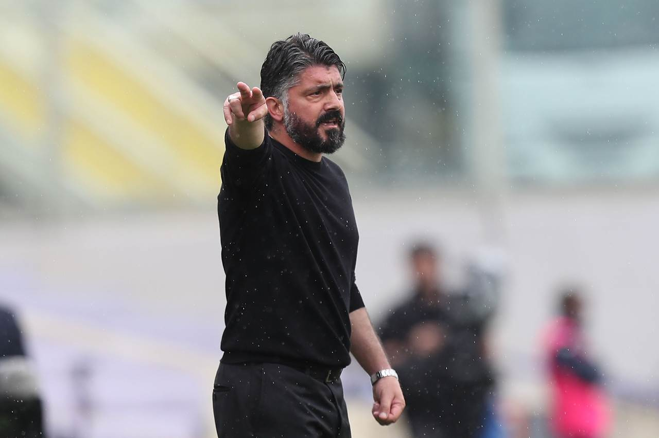 Milan Gattuso Napoli Pioli