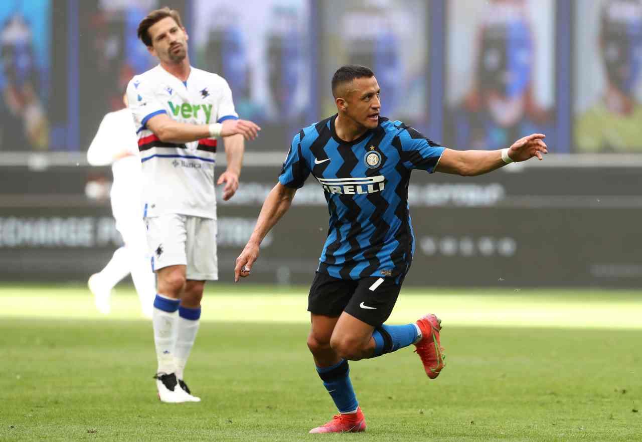 Inter Sampdoria Serie A tabellino classifica