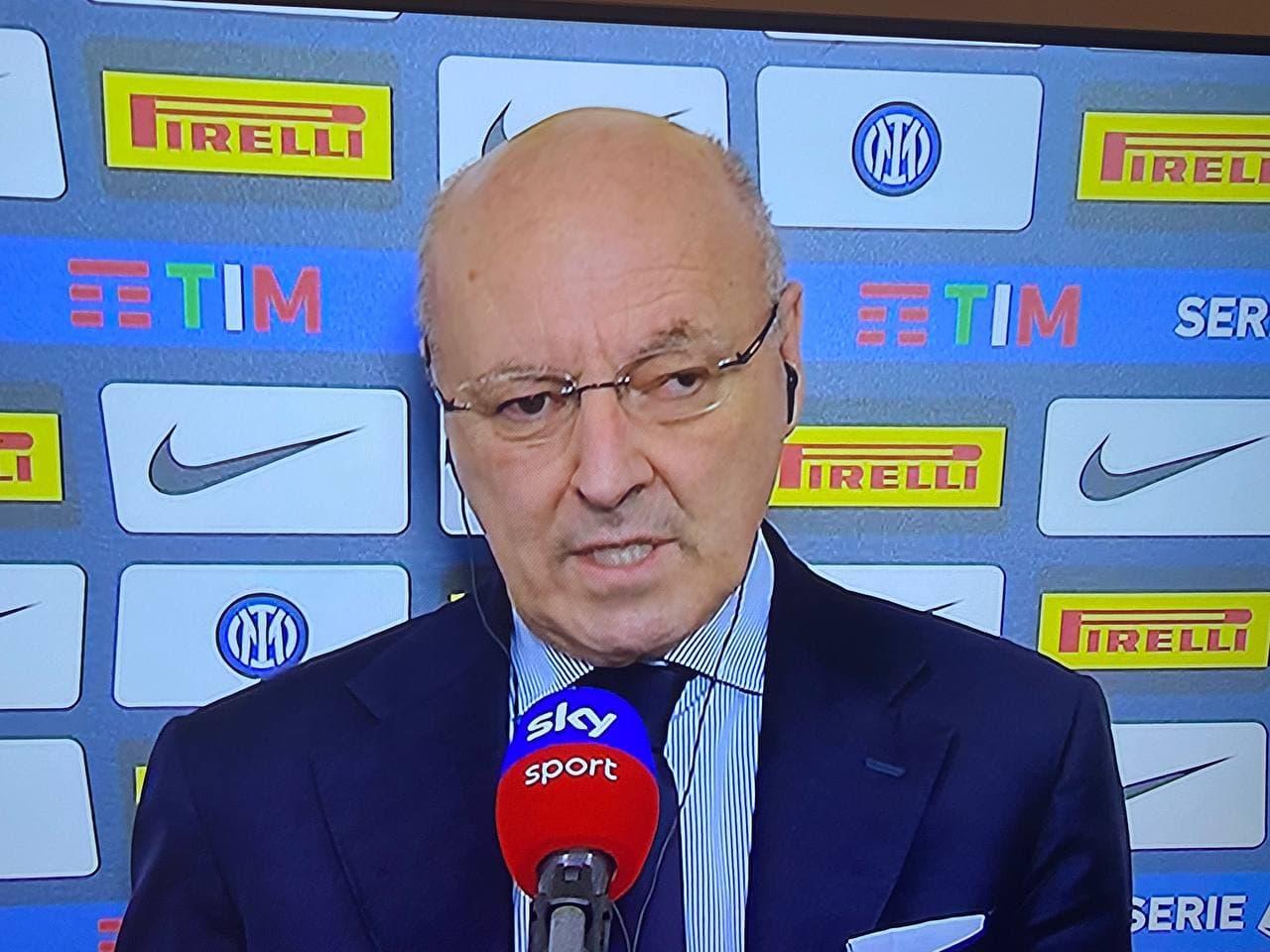 Inter Roma Marotta Zhang Conte calciomercato