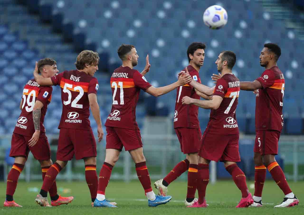 Roma Crotone Serie A