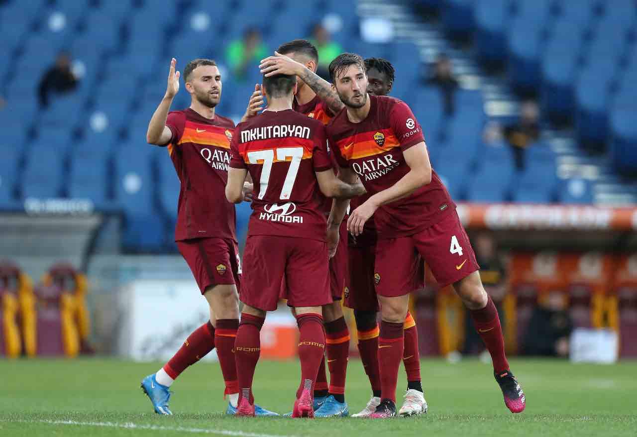 Roma Crotone 5-0
